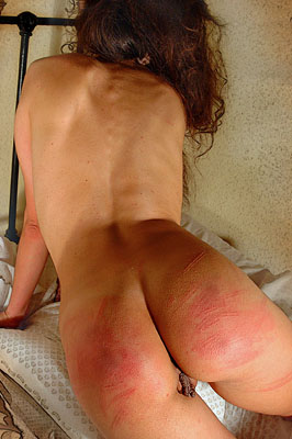 piss Hard panty caning